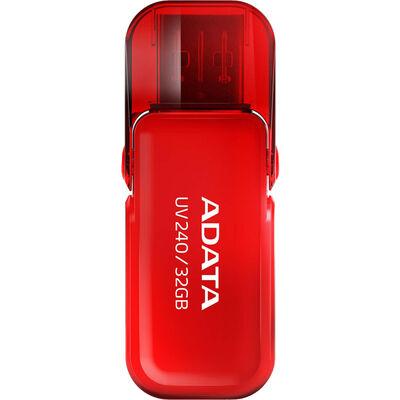 USBフラッシュメモリ UV240 レッド 32GB USB2.0対応 AUV240-32G-RRD