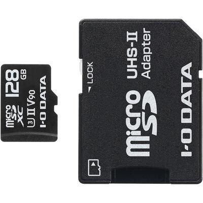 UHS-II UHS スピードクラス3対応 microSDXCメモリーカード 128GB MSDU23-128G