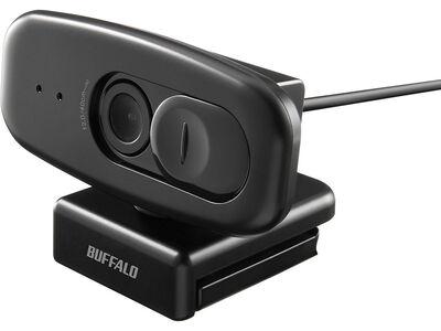 200万画素WEBカメラ 1080P FullHD マイク内蔵 ブラック BSW300MBK