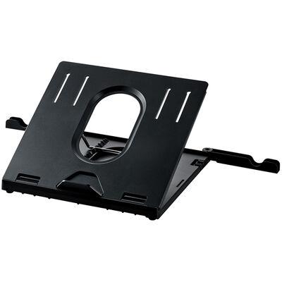 ノートPCスタンド/折りたたみ8段階/ブラック PCA-LTS8BK