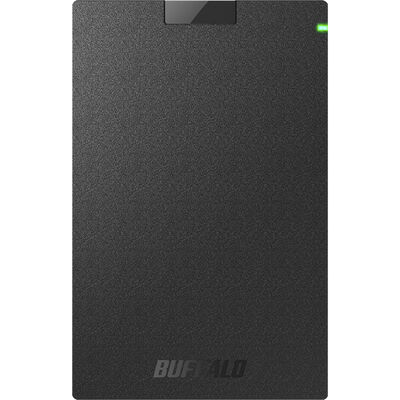 ミニステーション USB3.1(Gen.1)対応 ポータブルHDD スタンダードモデル ブラック 500GB HD-PCG500U3-BA