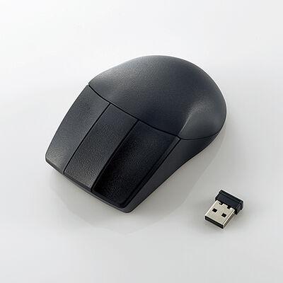 3D CAD向け3ボタンマウス/無線2.4GHz/ブラック M-CAD01DBBK