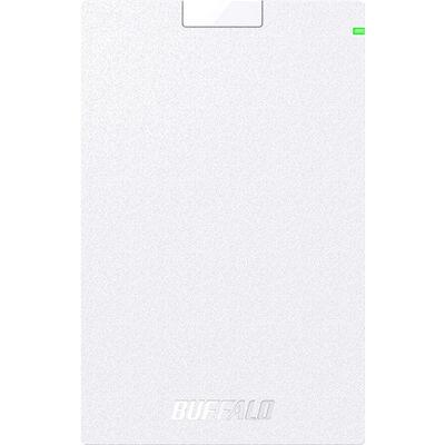 USB3.2(Gen1)対応ポータブルHDD Type-Cケーブル付 2TB ホワイト HD-PGAC2U3-WA