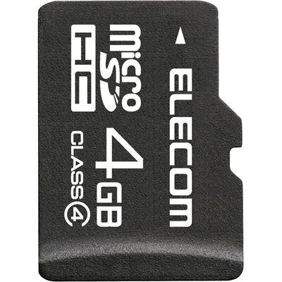 microSDHCカード/Class4/4GB/法人専用/簡易パッケージ MF-MSD004GC4/H
