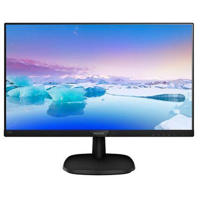 23.8型ワイド液晶ディスプレイ  5年間フル保証(フルHD/DP/HDMI/D-Sub) 243V7QJAB/11