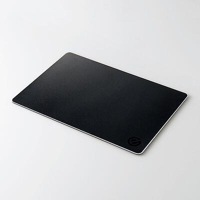 ゲーミングマウスパッド/アルミ/ブラック MP-GALBK