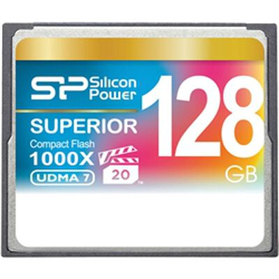 コンパクトフラッシュカード 1000倍速 128GB 永久保証 SP128GBCFC1K0V10