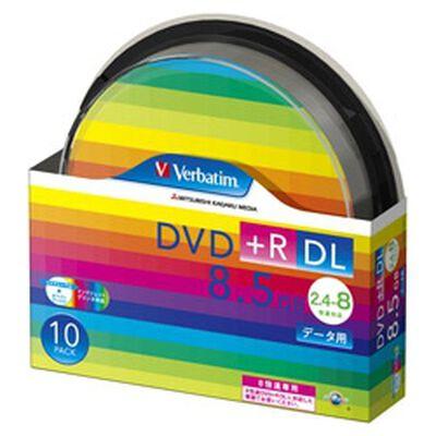 DVD+R DL 8.5GB PCデータ用 8倍速対応 10枚スピンドルケース入り ワイド印刷可能 DTR85HP10SV1