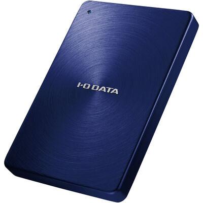 USB3.0/2.0対応 ポータブルハードディスク 「カクうす」 1.0TB ブルー HDPX-UTA1.0B