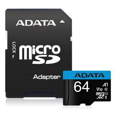 microSDXCカード 64GB AUSDX64GUICL10A1-RA1