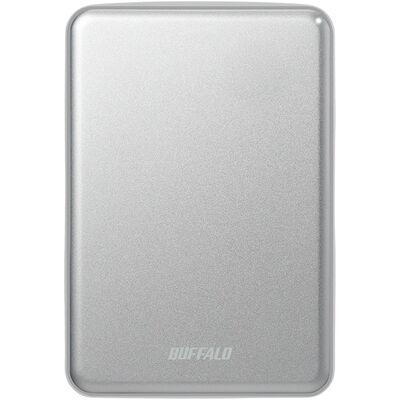 USB3.1(Gen.1)対応 アルミ素材&薄型ポータブルHDD 1TB シルバー HD-PUS1.0U3-SVD