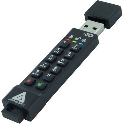 Aegis Secure Key 3NX - USB3.0 Flash Drive 4GB ASK3-NX-4GB