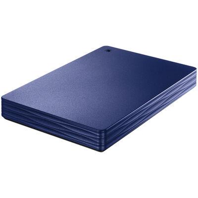 USB3.1 Gen1/2.0対応ポータブルハードディスク「カクうす Lite」 ミレニアム群青 1TB HDPH-UT1NVR