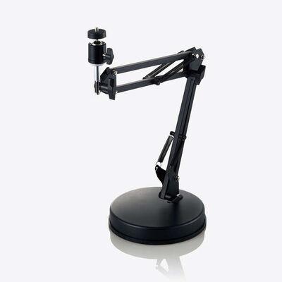 WEBカメラ用フレキシブルアーム型スタンド/GoPro用アダプタ付属/ブラック UCAM-DSZARMBK
