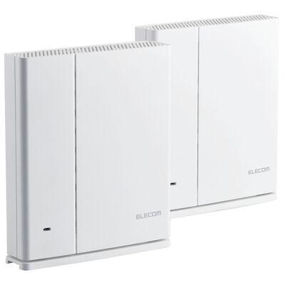 11ac/n/a/g/b対応無線LANルーター親機+中継器セット/1733+800Mbps/ホワイト WMC-2HC-W