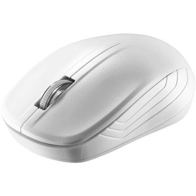 無線(2.4GHz)IR LEDマウス 3ボタンタイプ 簡易パッケージモデル ホワイト BSMRW21WHZ