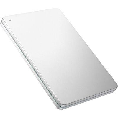 USB 3.0/2.0対応ポータブルHD「カクうす」1TB Silver×Green HDPX-UTS1S