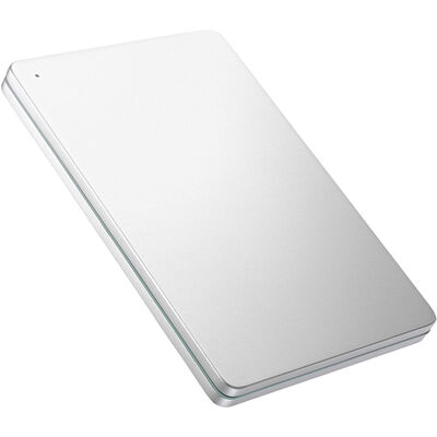 USB 3.0/2.0対応ポータブルHD「カクうす」2TB Silver×Green HDPX-UTS2S