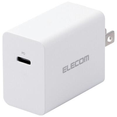 ノートPC用ACアダプター/PD対応/30W/USB Type-C1ポート/GaN(窒化ガリウム)/ホワイト ACDC-PD0630WH