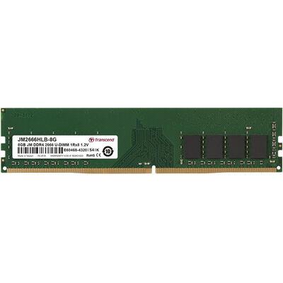8GB JM DDR4 2666MHz U-DIMM 1Rx8 1Gx8 CL19 1.2V