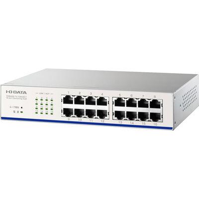 EEE省電力機能搭載100BASE-TX/10BASE-T対応スイッチングハブ(16ポート) ホワイト ETX-ESH16NCW