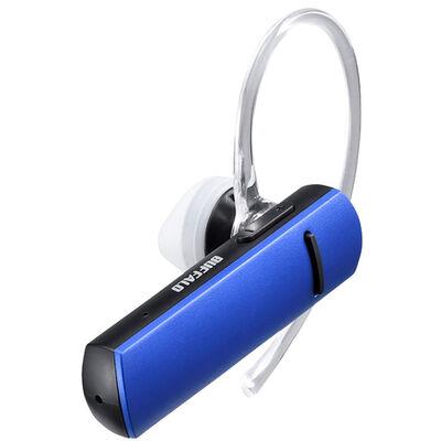 Bluetooth4.1対応 片耳ヘッドセット ブルー BSHSBE200BL