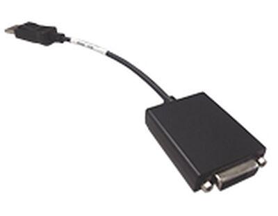 DP->DVI変換ケーブル