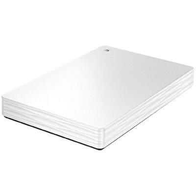 USB3.1 Gen1/2.0対応ポータブルハードディスク「カクうす Lite」 ホワイト 500GB HDPH-UT500WR
