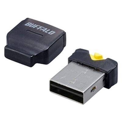 カードリーダー/ライター microSD対応 超コンパクト ブラック BSCRMSDCBK