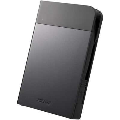 ICカードロック 耐衝撃防雨防塵 暗号化機能 USB3.0 ポータブルSSD 240GB ブラック SSD-PZN240U3-BK