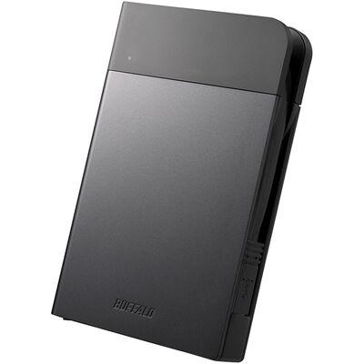 ICカードロック 耐衝撃防雨防塵 暗号化機能 USB3.0 ポータブルSSD 480GB ブラック SSD-PZN480U3-BK