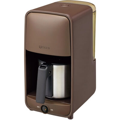 コーヒーメーカー ステンレスサーバータイプ 1~6杯用 ダークブラウン ADC-A060TD