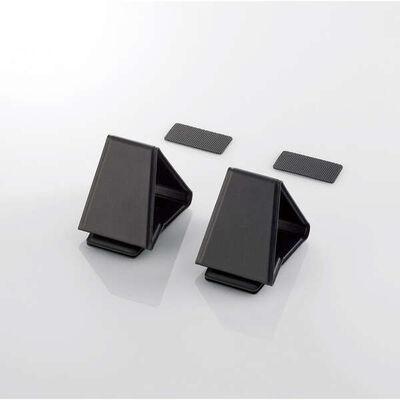 折りたたみノートPCスタンド/装着式/ミニ/ブラック PCA-LTSFMBK
