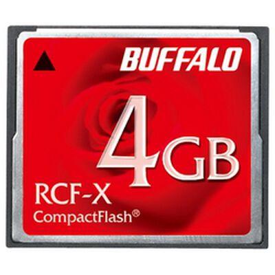 コンパクトフラッシュ ハイコストパフォーマンスモデル 4GB RCF-X4G