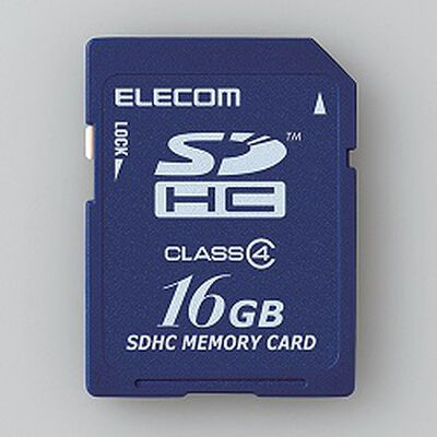 SDHCカード/Class4/16GB/法人専用/簡易パッケージ MF-FSD016GC4/H