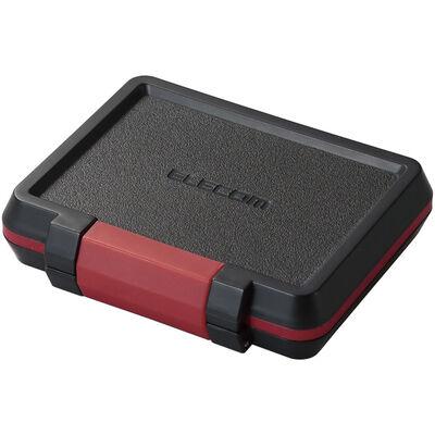 メモリカードケース/ハード/SD8枚+microSD8枚収納/ブラック CMC-SDCHD01BK