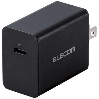 ノートPC用ACアダプター/PD対応/30W/USB Type-C1ポート/GaN(窒化ガリウム)/ブラック ACDC-PD0630BK