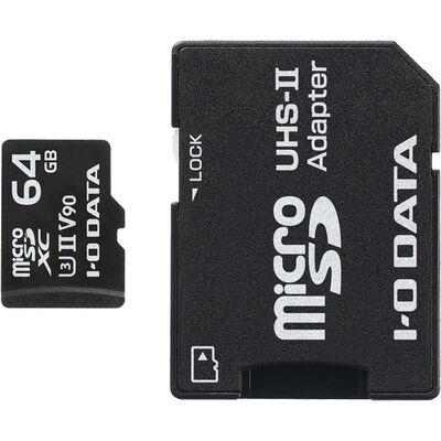 UHS-II UHS スピードクラス3対応 microSDXCメモリーカード 64GB MSDU23-64G