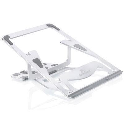 3E アルミ製折りたたみ式ノートPCスタンド【Alumijuster】 3E-DESKST6