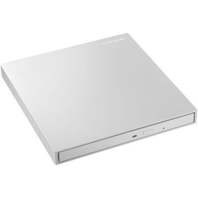 USB3.0/2.0 バスパワー対応ポータブルDVDドライブ パールホワイト EX-DVD04W