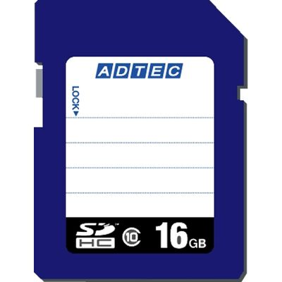 SDHCカード 16GB Class10 データ復旧サービス付き AD-SDTH16G/10