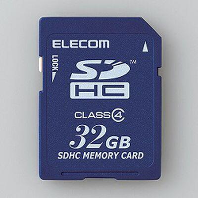 SDHCカード/Class4/32GB/法人専用/簡易パッケージ MF-FSD032GC4/H