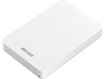 USB3.1(Gen.1)対応 耐衝撃ポータブルHDD 2TB ホワイト HD-PGF2.0U3-BWHA