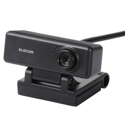PCカメラ/100万画素/マイク内蔵/高精細ガラスレンズ/ブラック UCAM-C310FBBK