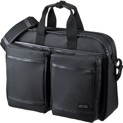 超撥水・軽量PCバッグ(15.6インチワイド・シングル・ブラック) BAG-LW9BK