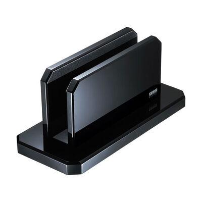 ノートパソコン用アクリルスタンド(縦置きタイプ) PDA-STN32BK