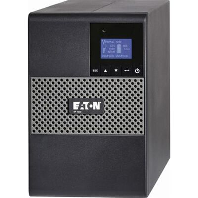 イートン無停電電源装置(UPS) 5P1000 833VA/641W 100V タワー型 ラインインタラクティブ方式 正弦波 センドバック3年保証付 5P1000-S3
