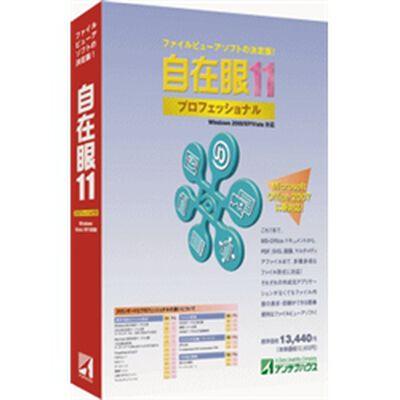 自在眼11プロフェッショナルfor Windows JAN11