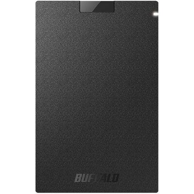 USB3.1(Gen1) ポータブルSSD 480GB ブラック SSD-PG480U3-BA