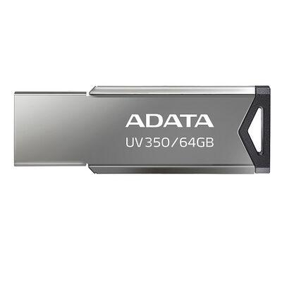 USBフラッシュメモリ UV350 シルバー 64GB USB3.2 Gen1対応 AUV350-64G-RBK